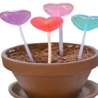 """Wow kids of all ages and grow lollipops!  All you need are """"magic seeds""""! #growalollipop #growlollipops #valentinesday #valentinecrafts #growingajeweledrose #activitiesforkids"""