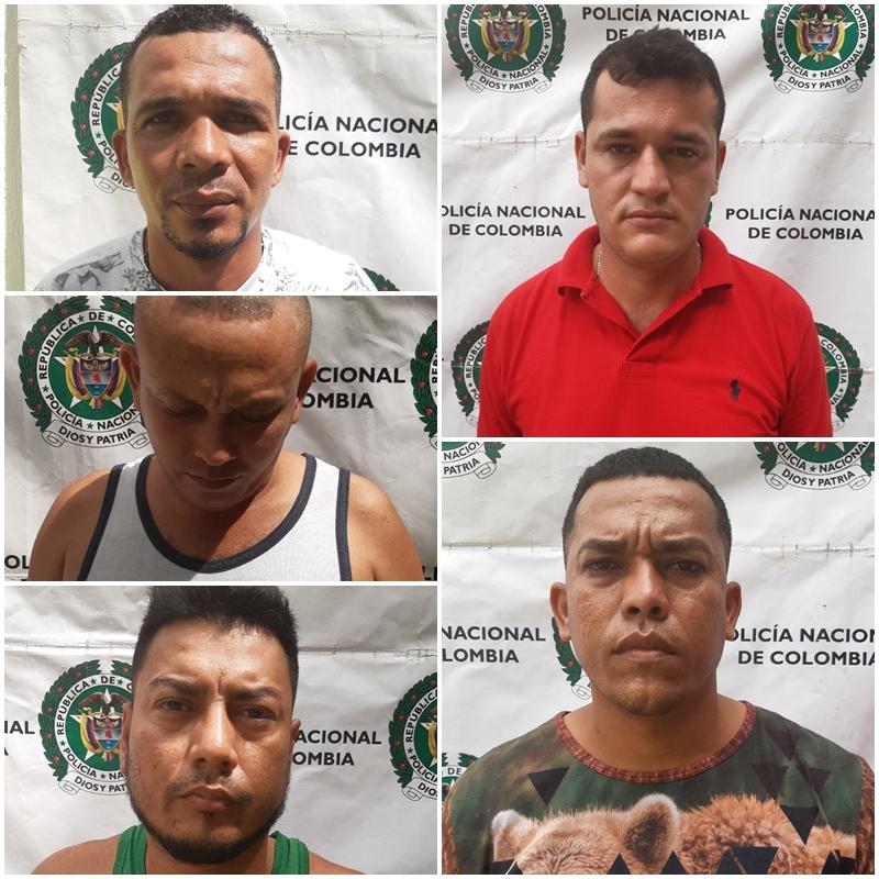 hoyennoticia.com, Cinco de 'Los Pachencas' fueron capturados en Dibulla