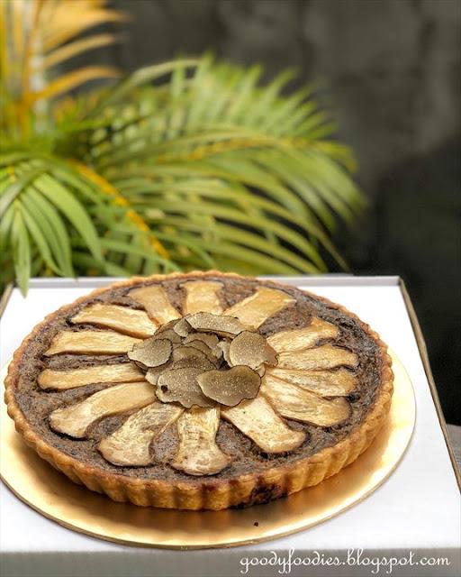 skillet at 163 kl truffle mushroom tart