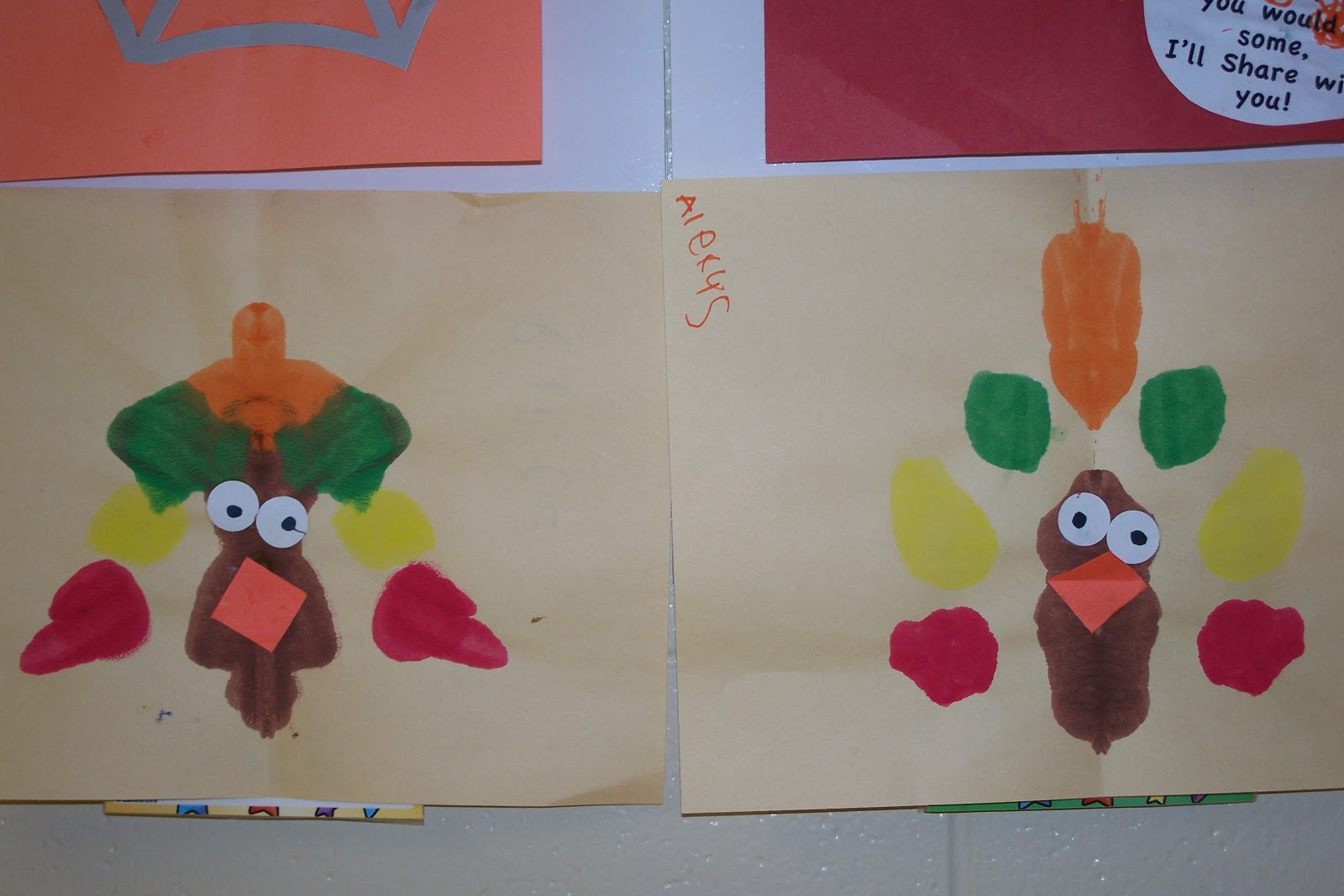 Mrs Doyle S Kindergarten Kaleidoscope Thanksgiving Fun