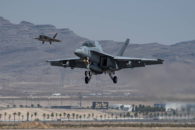 Super Hornet Green Flag Nellis