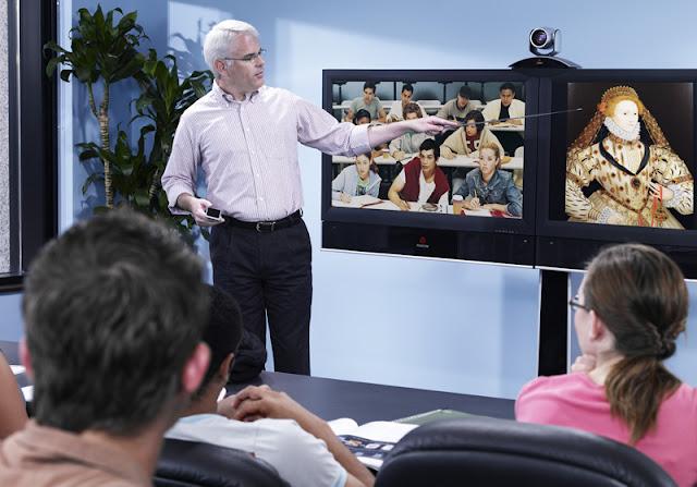 Sức mạnh của sự hợp tác hội nghị truyền hình Polycom