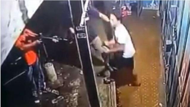 Kata Polisi soal Video Tukang Bakso Ditodong Senjata Laras Panjang dan Dijebak Narkoba