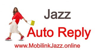 JAZZ AUTO REPLY SERVICE - How to Sub & Unsub Auto reply