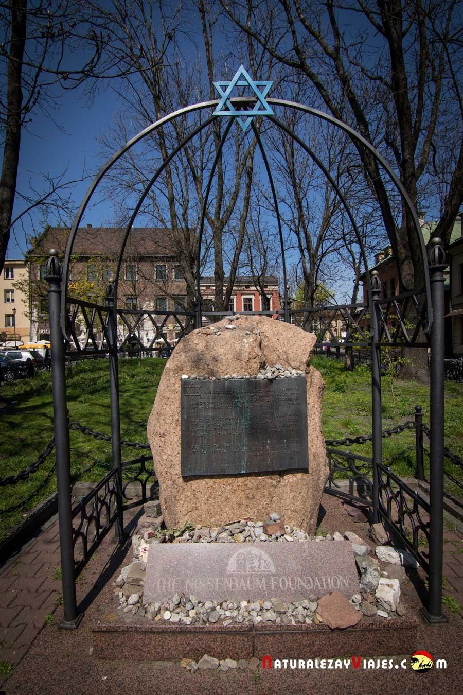 Monumento al martirio en Kamizierz, Cracovia
