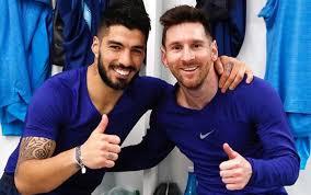Messi dedicó un emotivo mensaje de despedida a Suárez, quien fichó por el Atlético de Madrid
