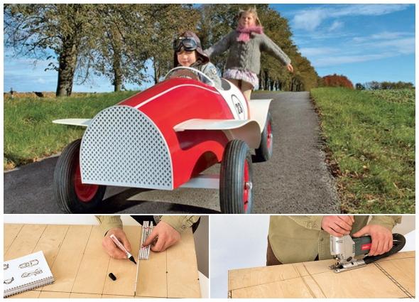 bricolaje coches infantiles,manualidades de madera, enrhedando