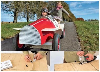 Como hacer a tus hijos el coche de Chitty Chitty Bang Bang
