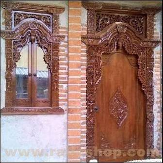 pintu kayu jati surabaya, Jual Pintu jati surabaya Jawa Timur, Contoh pintu kayu jati Surabaya