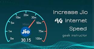 HOW TO INCREASE JIO 4G INTERNET SPEED