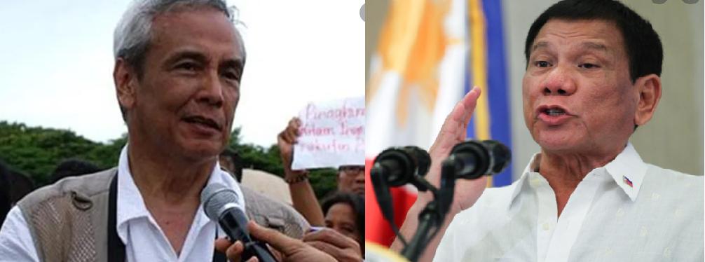Tila hindi kumbinsido si Jim Paredes nag gawa ng sariling survey para kontrohin ang 91% trust rating ng Pangulong Duterte