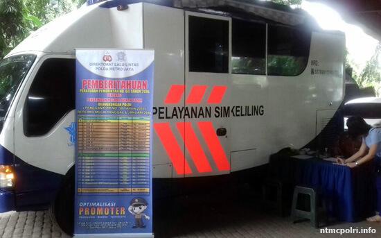 Jadwal Layanan SIM & Samsat Keliling Pemalang, Jumat 9 Oktober 2020