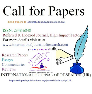 Call for Papers (International Journal of Research)