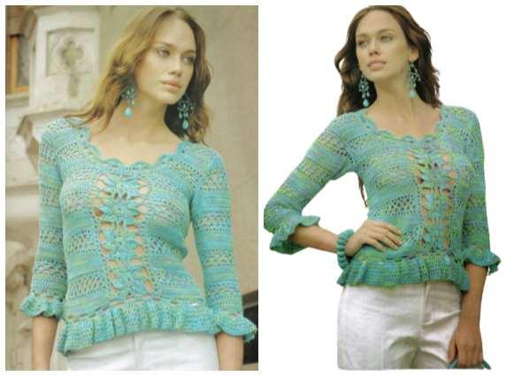 patrones crochet, tutoriales ganchillo, moda femenina tejida