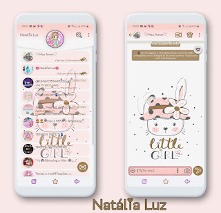 Little Girl Theme For YOWhatsApp & Fouad WhatsApp By Natalia Luz