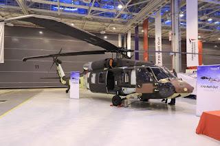 Turki Roll Out Helikopter T70 Blackhawk