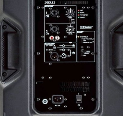 Panel Control Active Speaker