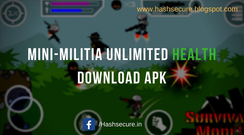 Mini Militia Unlimited Health Download APK