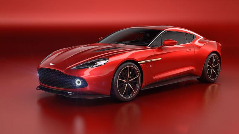 luxury Aston Martin Vanquish Zagato
