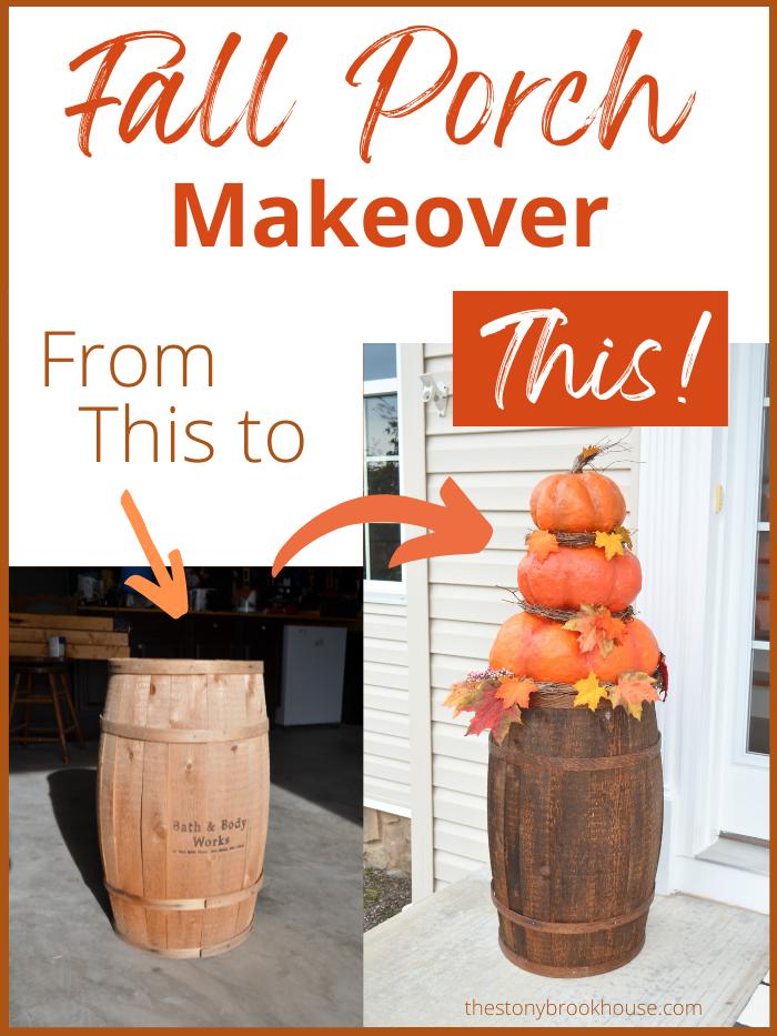 Fall Porch Makeover