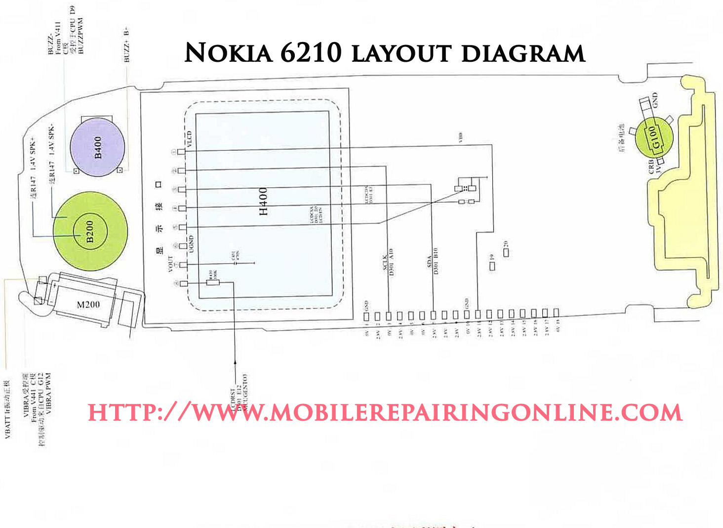 schematic diagram for nokia mobile phones mobilerepairingonline rh mobilerepairingonline com nokia 1200 circuit diagram pdf nokia 1280 circuit diagram pdf