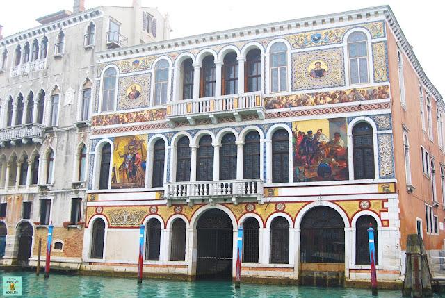 Edificios en el Gran Canal, Venecia