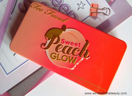 Too Faced Sweet Peach Glow  Recenzja I Swatche