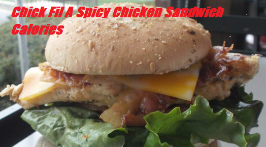 Chick Fil A Spicy Chicken Sandwich Calories