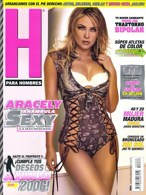 Aracely Arambula Revista H Enero 2006