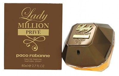 New Paco Rabanne Lady Million Prive Eau De Parfum Spray Full