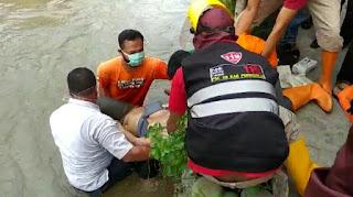 Ditemukan Mayat Perempuan Terapung Di Sungai Kedung Putri