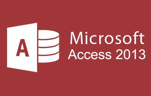 Microsoft Office Access 2013 Course