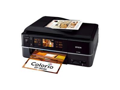 Epson Colorio EP-903Aドライバーダウンロード
