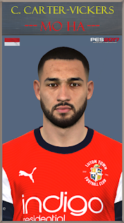 PES 2017 Faces C. Carter-Vickers by Mo Ha