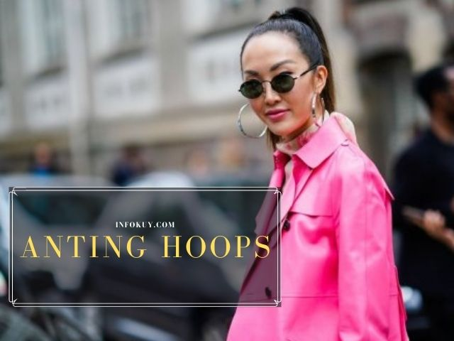 aksesoris anting hoops, antingn hoops bold fashion