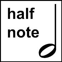 Image result for half note symbol