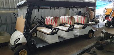 Jual mobil golf delapan seat bekas