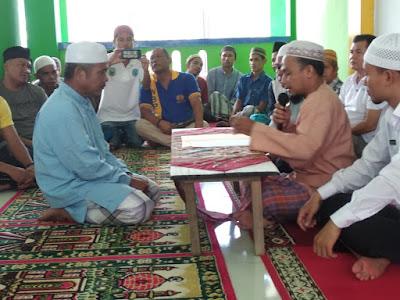 WBP Lapas Sarolangun Musa Partogi Harianjaya Rubah Nama