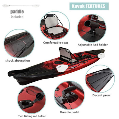 accessories red kayaks