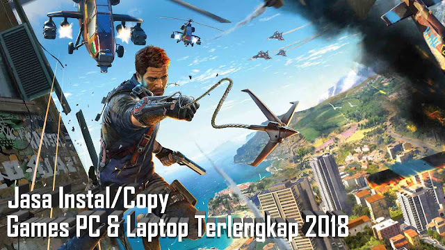 Jasa Instal dan Copy Game PC/Laptop Terlengkap di Semarang