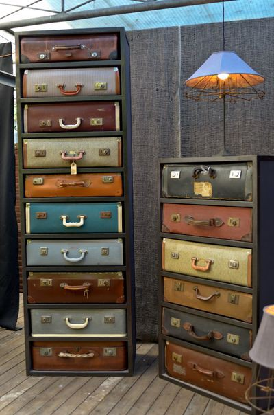 Dishfunctional Designs Creative Uses For Vintage Suitcases