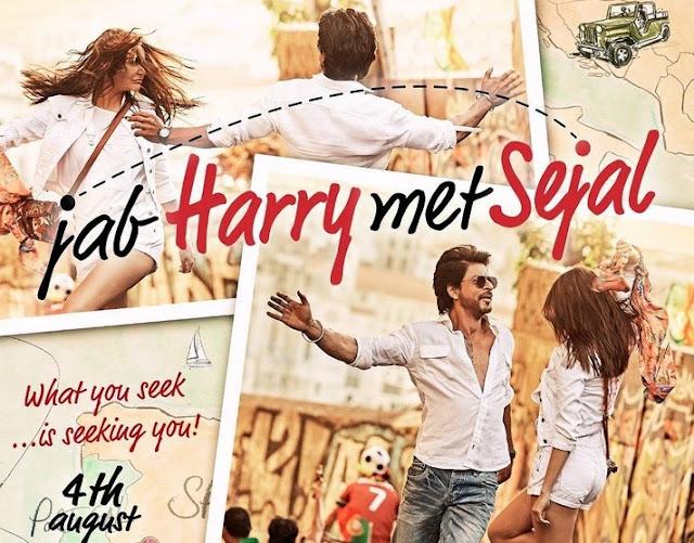 Jab Harry Met Sejal Film Poster