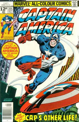 Captain America #225