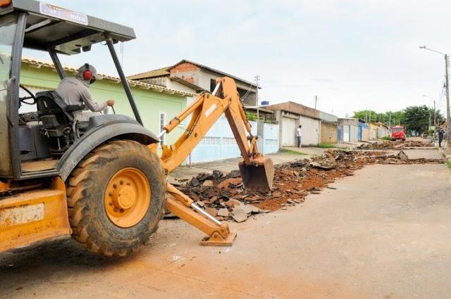 Brazlândia ganha recuperação de ruas e avenidas