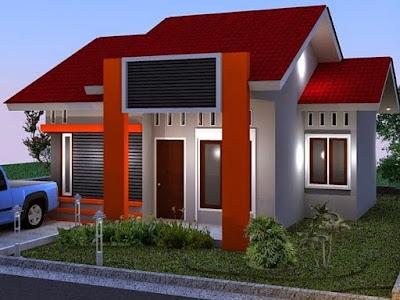 bentuk atap rumah minimalis type 36