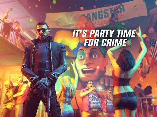 pada kesempatan kali ini admin akan membagikan sebuah  Gangstar New Orleans v1.5.3e Mod Apk (Unlimited Ammo)