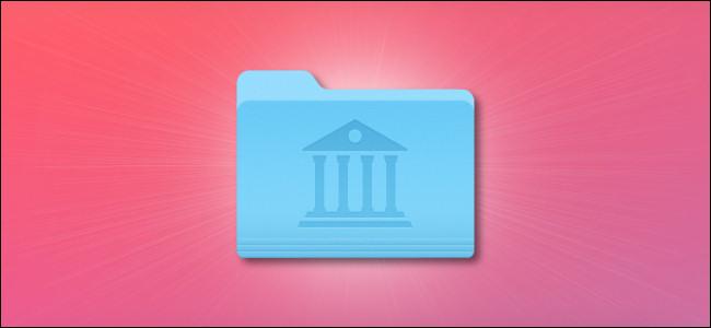 رمز مجلد مكتبة Apple Mac