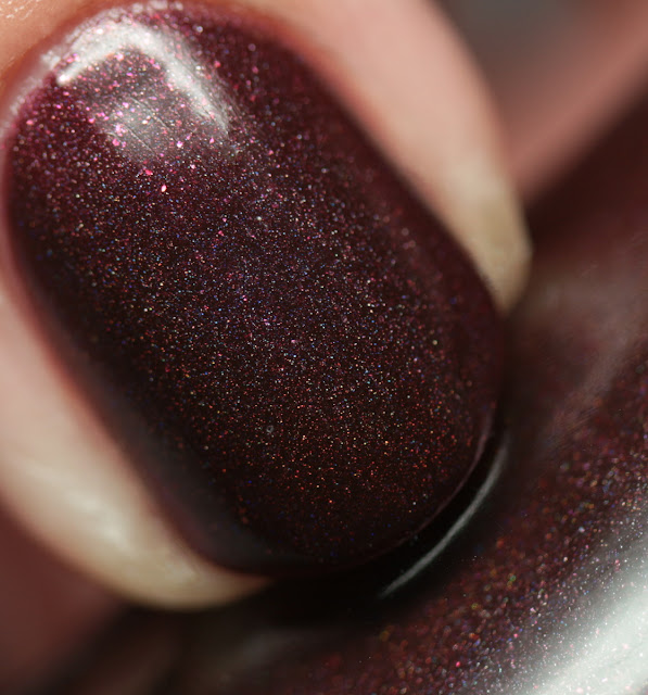 Octopus Party Nail Lacquer Red Blood Sells
