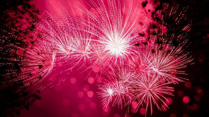 Celebração. Fogos de Artifício, Fim de Ano