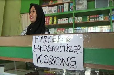 Indonesia Ekspor Masker Besar-besaran ke China
